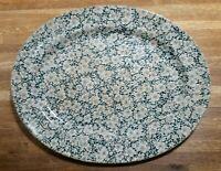 Rare B.W. & Co. Pompadour Chintz Platter Bates Walker & Co. Staffordshire 1800s