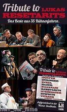 TRIBUTE TO LUKAS RESETARITS (Josef Hader, Michael Niavarani u.v.a.) 2 DVDs NEU