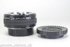 Teleplus 2 2.0 x Teleconverter Mc4 Mx Para Minolta Md Cámaras Y Lentes
