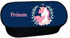 trousse à crayons école licorne unicorn personnalise réf 273