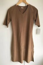 Ladies brown short sleeve dress size 10-12 New 🍭