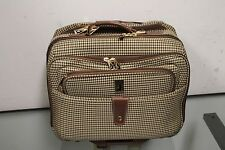 Plaid Rolling Briefcase Best Laptop Bag Carry on With Wheels London Fog