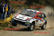 Colin McRae Ford Focus RS WRC 02 Cyprus Rally 2002 Photograph