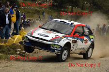 Colin McRae. FORD FOCUS RS WRC 02 CIPRO RALLY 2002 Fotografia