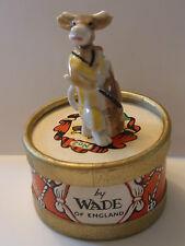 WADE-WHIMSIE Clara la Vache avec boîte originale tambour