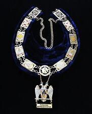 Scottish Rite S.G.I.G. Personal Representative Masonic Freemason Collar & Jewel