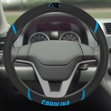 Carolina Panthers Embroidered Steering Wheel Cover
