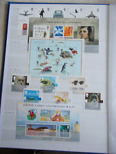 2009 Complete Commemorative Collection with M/Sheets Superb M/N/H - Face £80+