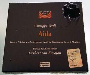 CD Giuseppe Verdi - Aida - La Grande Lirica L'espresso