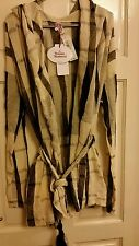 BNWT Vivienne  Westwood Hooded Cotton Mix Robe Adult size Med/ Small.