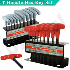 T Handle Hex Key Set Metric and or SAE 10 to 20pcs Allen Allan Keys T Bar Wrench