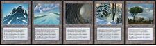 20 Depletion Land Lot - Ice Age  - Played - 4x of each - Sets - Magic MTG FTG