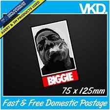 Notorious B.I.G Sticker/ Decal - Gangster Big Papa BIGGIE Smalls Tupac Beats RAP