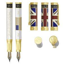 NEW David Oscarson Pearl Magna Carta Collection Fountain Pen