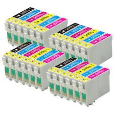 24 Cartouches d'encre (Set) pour Epson Stylus Photo R220 R320 R350 RX500 RX640