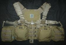 NEW COYOTE SO TECH MEDICAL IFAK MOLLE CHEST RIG HARNESS MAG POUCH SEAL DEVGRU