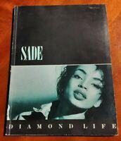 SADE DIAMOND LIFE VINTAGE 1984 SHEET MUSIC PIANO GUITAR VOCAL SONGBOOK SONG BOOK