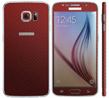 Red Fitted Cases/Skins for Samsung Galaxy S6