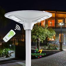 Lampione Stradale Faro Faretto a Energia Solare da esterno Luce Led per giardino