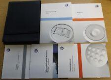 Genuine Vw Sharan Manual Owners Manual Cartera 2010-2015 Pack 3782