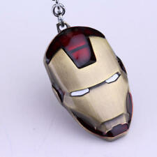 PORTACHIAVI KEYCHAIN IRON MAN 2 TONY STARK MARVEL AVENGER METALLO IDEA REGALO