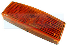 HELLA 2PS006717031 AMBER SIDE MARKER WITH REFLECTOR LIGHT LAMP 110mm x 40mm