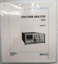 HP 3585A Spectrum Analyzer Service Manual Volume 2 P/N 03585-90006