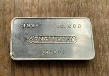 Engelhard 10 Oz Silver Bullion Bars Rounds For Sale Ebay