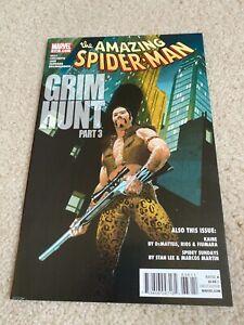 Amazing Spider-Man  636  NM  9.4  High Grade  Kraven The Hunter  Madame Web