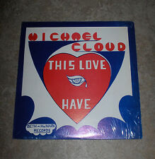 "MICHAEL CLOUD This Love I Have in Shrink Vinyl 12"" LP Record Funk / Soul Gospel"