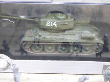 Dragon Armor Minitanks Korean War Soviet T-35/85 Tank & Airfix Soldiers Lot#64AA