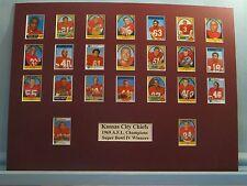 Kansas City Chiefs - 1969 AFC & Super Bowl IV Champs