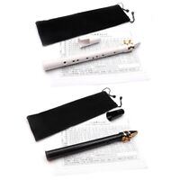 Mini Pocket C Key Saxophone ABS with Alto Mouthpiece 2pcs Reed with Carrying Bag