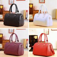 Women Handbag Faux Leather Shoulder Bag Messenger Tote Purse Crossbody Satchel