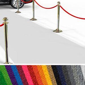 Premium Hochzeitsläufer, Messeteppich, Eventteppich, VIP-Teppich | Viele Farben