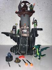Le chateau Donjon du dragon vert Playmobil Ref 4836