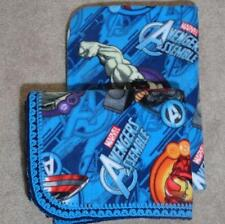 TODDLER/TWIN BLANKET & PILLOW COVER - AVENGERS ASSEMBLE HULK THOR IRONMAN
