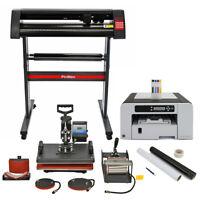PixMax - Presse à Chaud 5 en 1 Plotter de Découpe Vinyl Imprimante Kit Outils