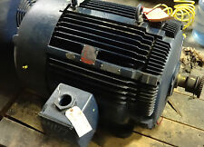 Westing House MAC II  125HP Motor  3570rpm  460volts *Rebuilt* with Inpro Seal