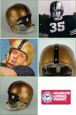 Vintage Style Suspension College Football Helmet ARMY BLACK KNIGHTS 1942-1956