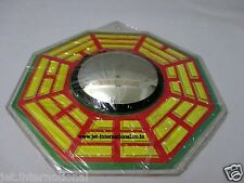 """Feng Shui Bagua Authentic Mirror Protection 6"""" Positive Energy Yantra India A++"""