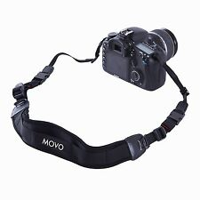 Movo Photo NS-1 Shock-Absorbing Padded Neoprene Quick Release Camera Neck Strap