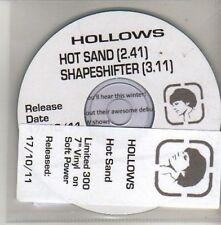(CU450) Hollows, Hot Sand - 2011 DJ CD