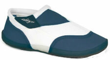 Ladies Kids Aqua Shoes, Beach Water Sports Wet Suit Navy Blue Ankle Shoes Size 3