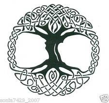 Celtic Tree of Life Vinyl Window Sticker Decal Car Wall Irish
