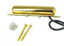 Danelectro(tm)-style Gold Lipstick-Tube Single Coil Electric Guitar Pickup