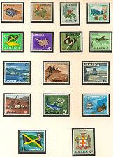More details for jamaica:1964 definitives set  1/2d-£1 sg 217-32  unmounted mint
