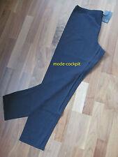 BORIS stylische Leggings Stretch Lagenlook Baumwolle schwarz 46(4)