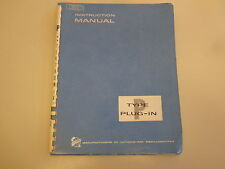 Tektronix Type P Plug-In Unit Fast Rise Mercury Pulser Instruction Manual