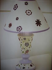 New Kidsline Mulberry Purple Lamp Base & Shade
